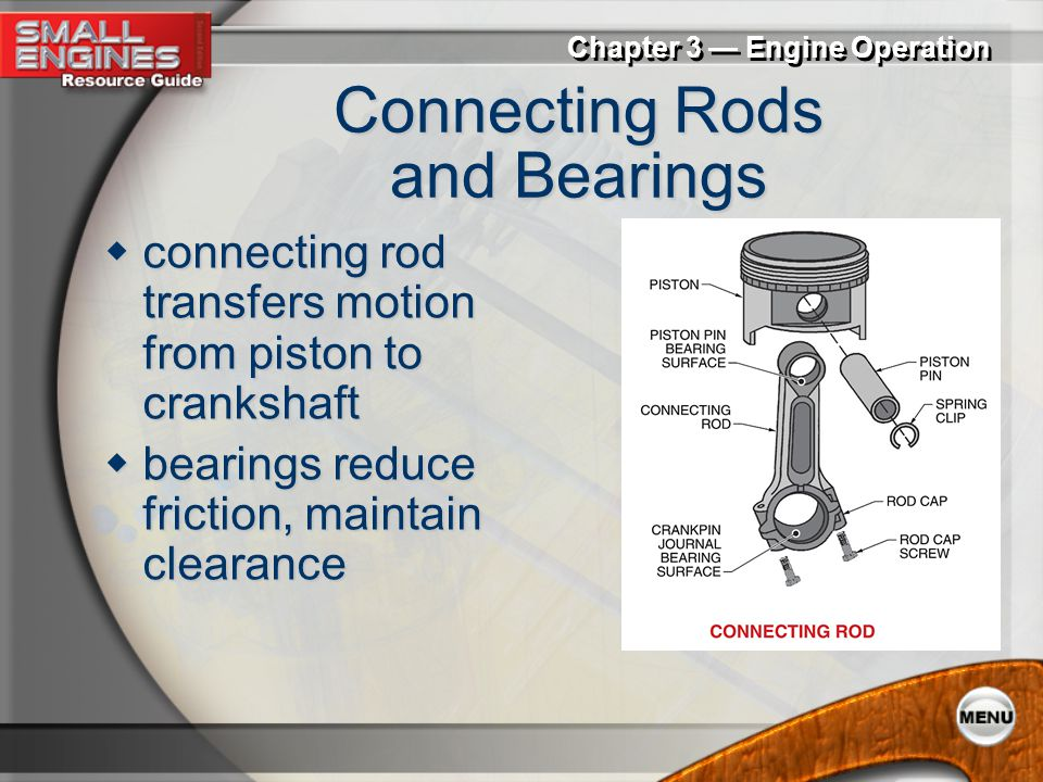 Connecting Rods and Bearings