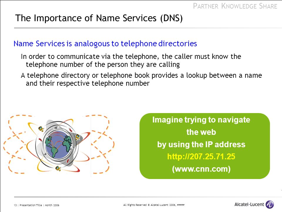 The Importance of Name Services (DNS)