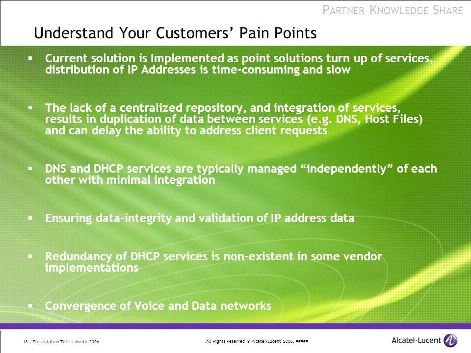 Understand Your Customers' Pain Points