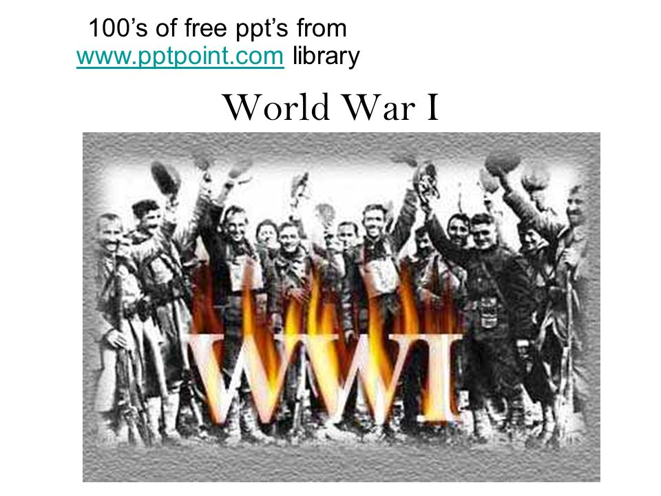 100's of free ppt's from   library