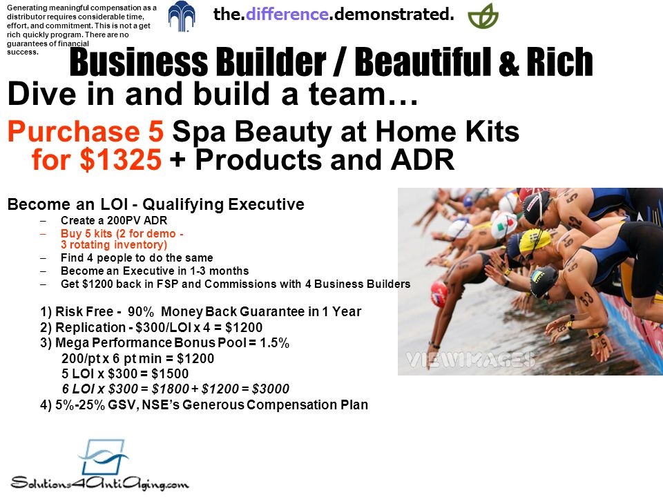Business Builder / Beautiful & Rich