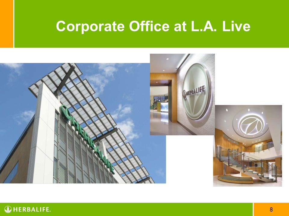 Corporate Office at L.A. Live