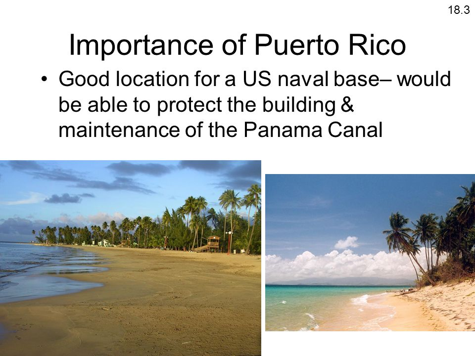 Importance of Puerto Rico