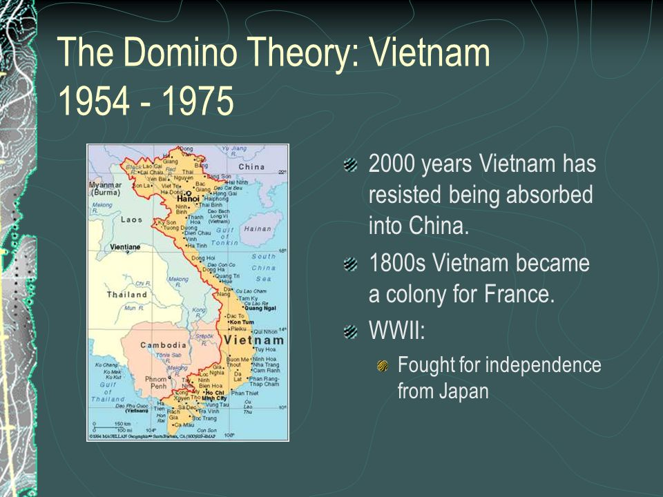 The Domino Theory: Vietnam