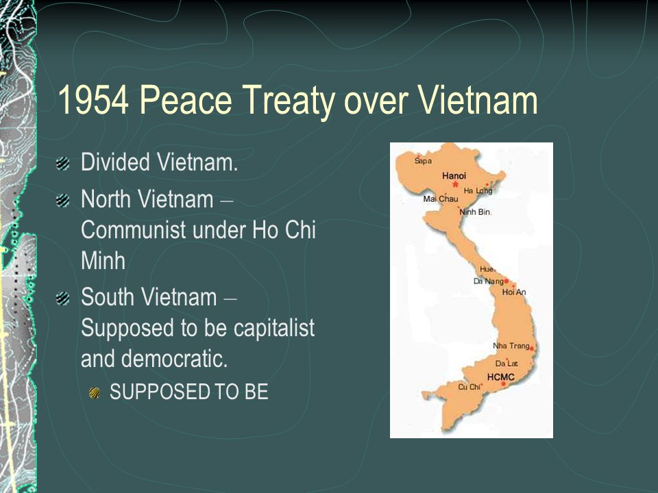 1954 Peace Treaty over Vietnam