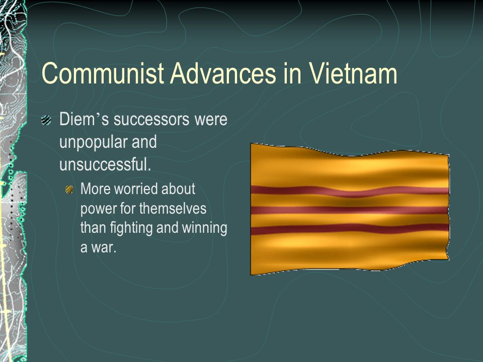 Communist Advances in Vietnam
