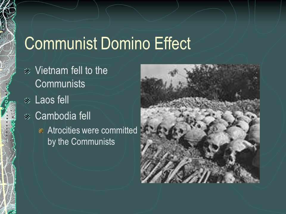 Communist Domino Effect