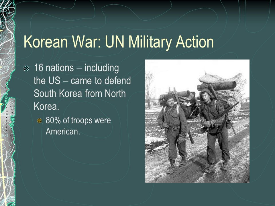 Korean War: UN Military Action