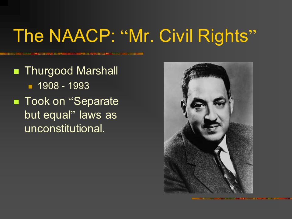 The NAACP: Mr. Civil Rights