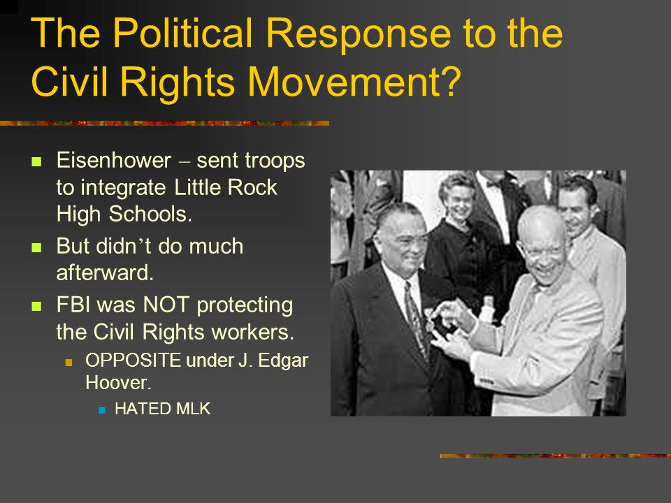 The Political Response to the Civil Rights Movement