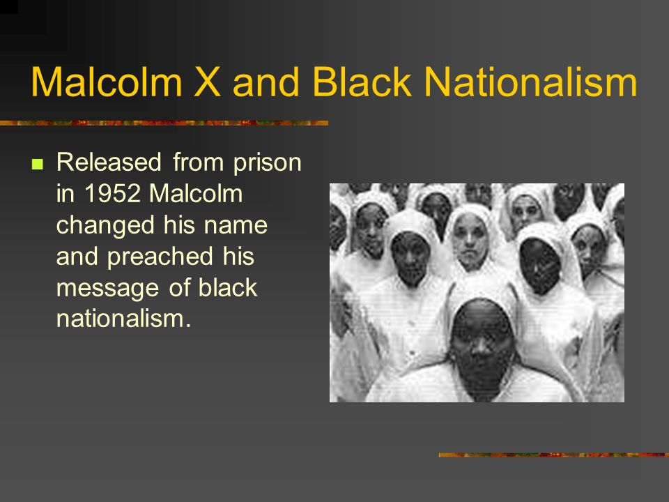 Malcolm X and Black Nationalism