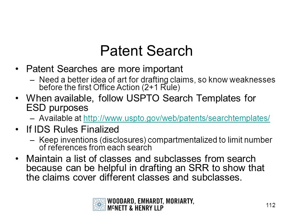 Patent Search Patent Searches are more important