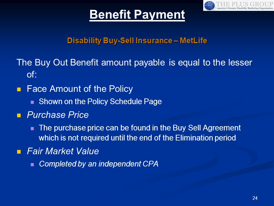 Disability Buy-Sell Insurance – MetLife