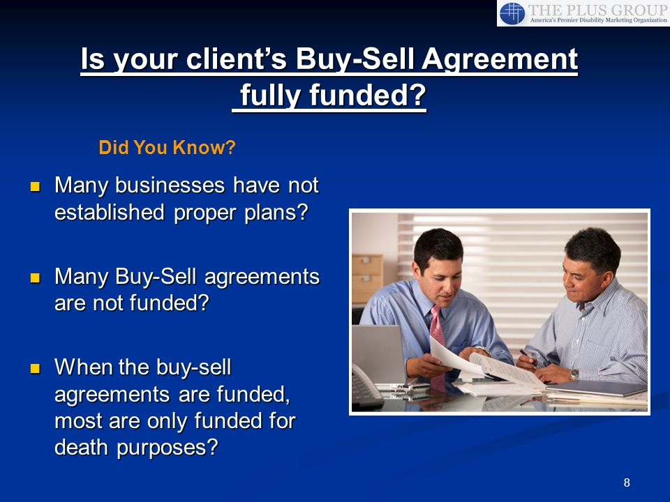 Is your client's Buy-Sell Agreement fully funded