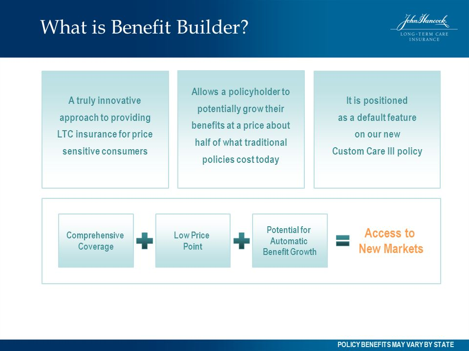 What is Benefit Builder