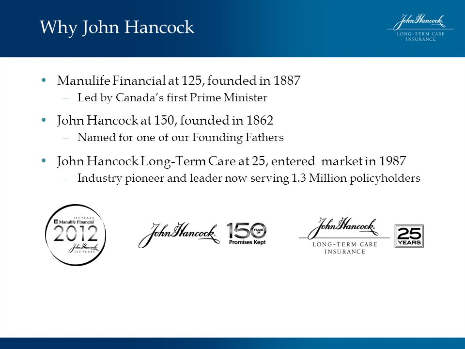 Why John Hancock Manulife Financial at 125, founded in 1887