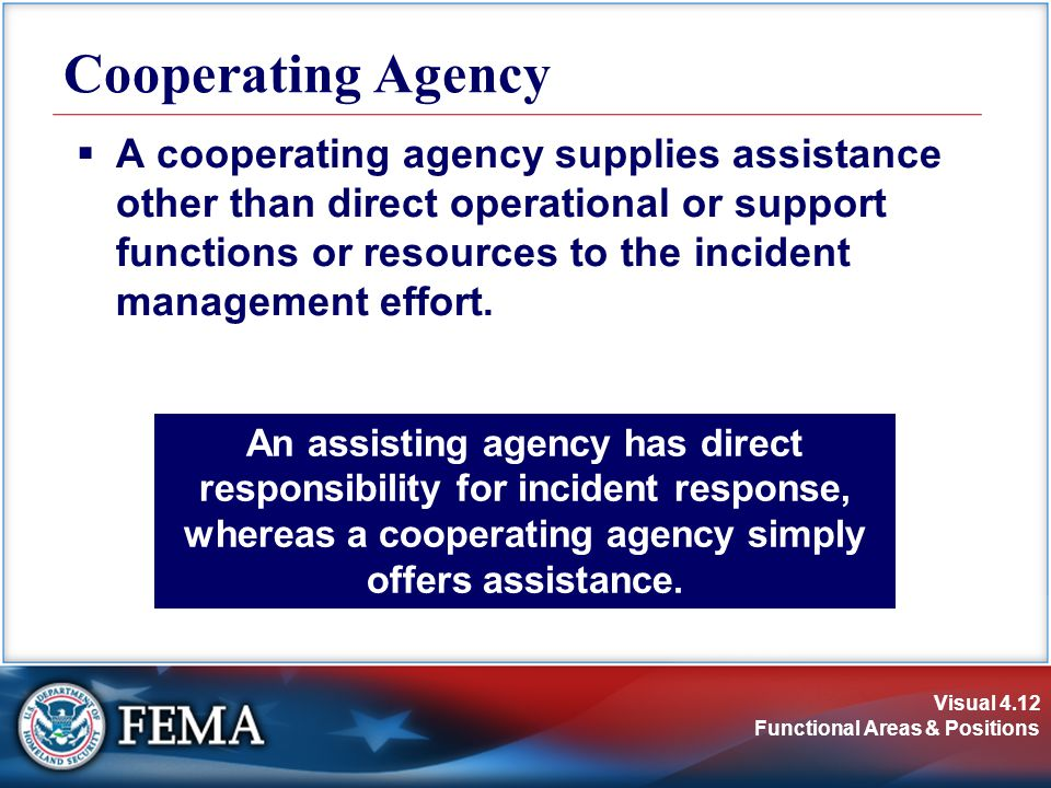 Cooperating Agency