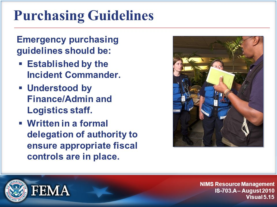 Purchasing Guidelines