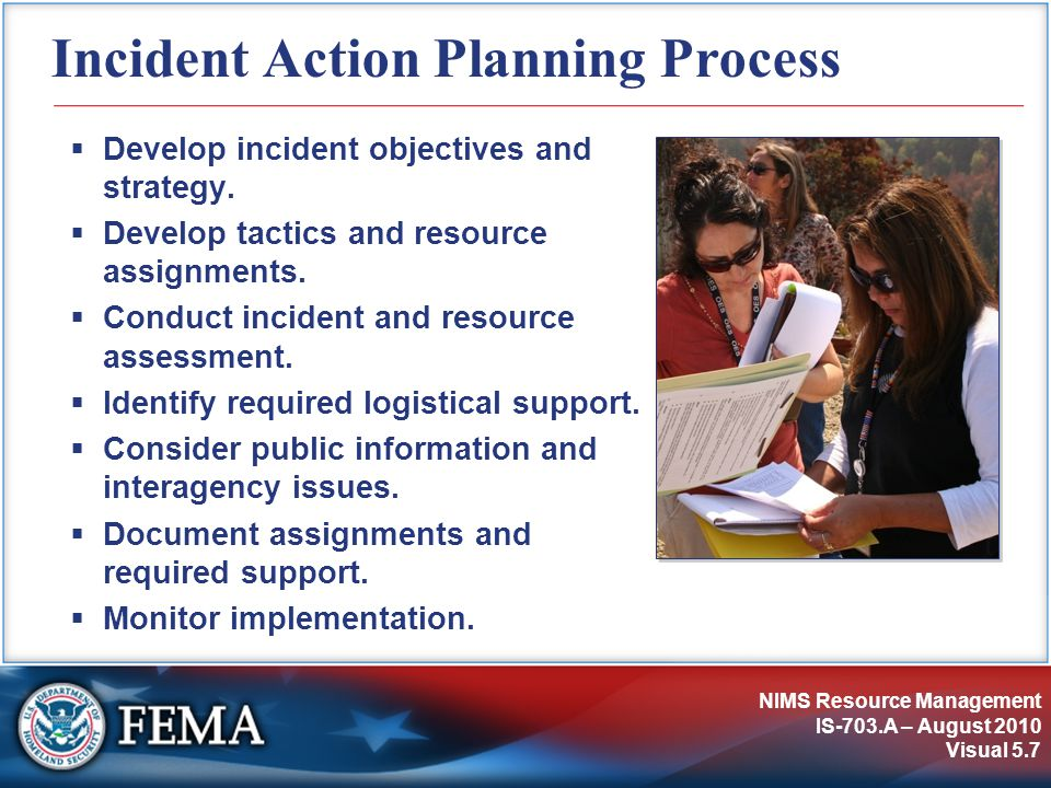 Incident Action Planning Process
