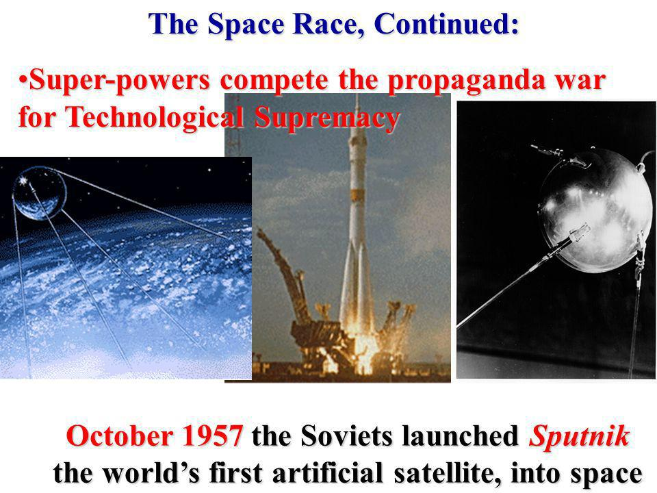 The Space Race, Continued: