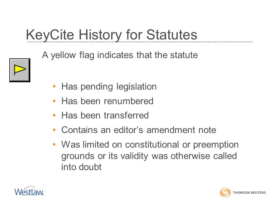 KeyCite History for Statutes