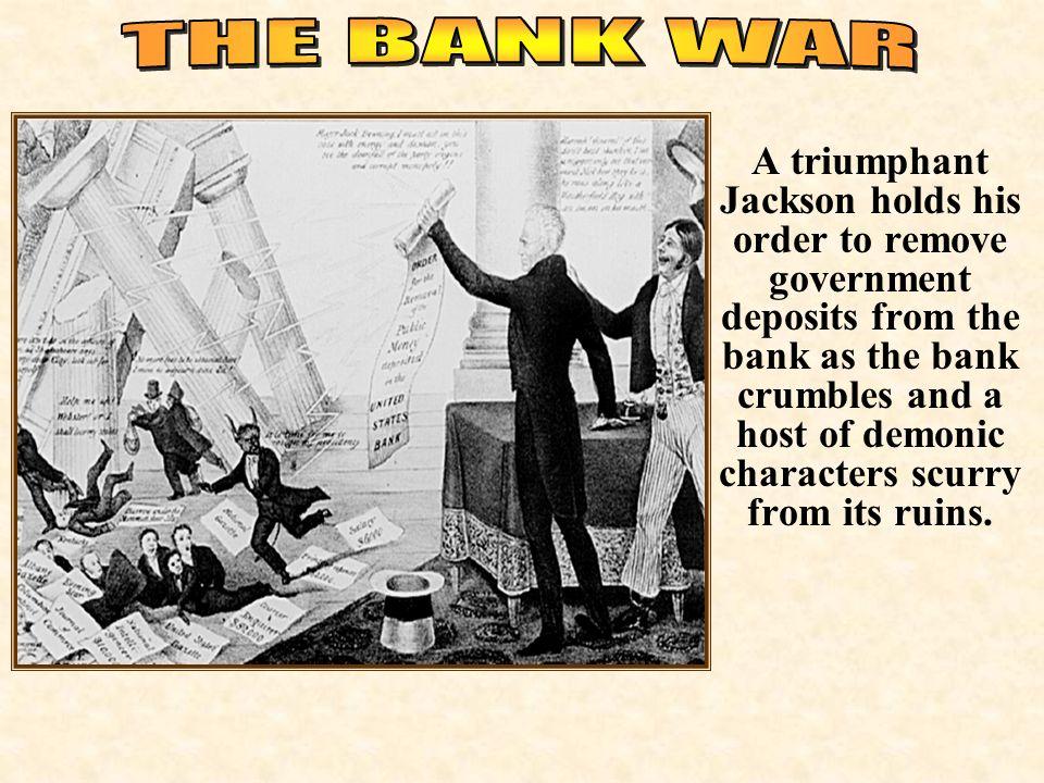 bank war andrew jackson. Brilliant Andrew THE BANK WAR With Bank War Andrew Jackson