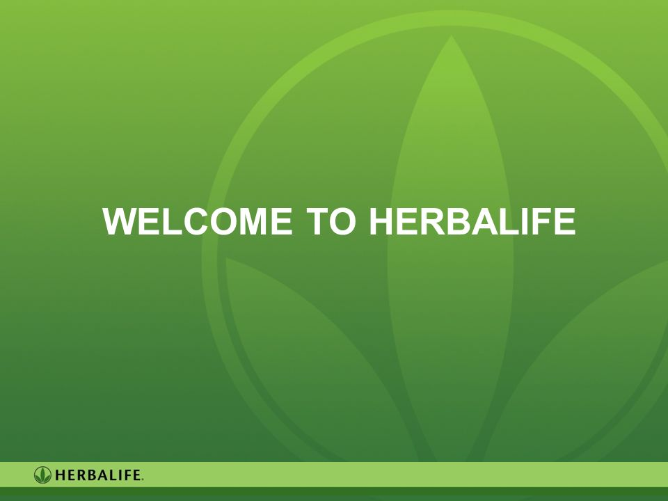 Welcome to herbalife