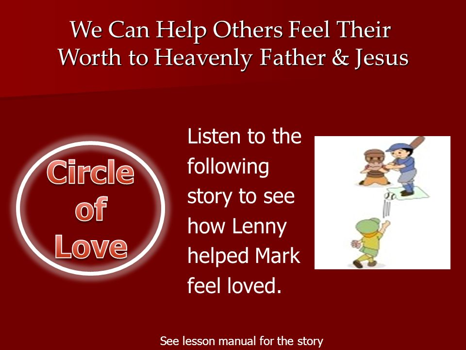 Circle of Love We Can Help Others Feel Their