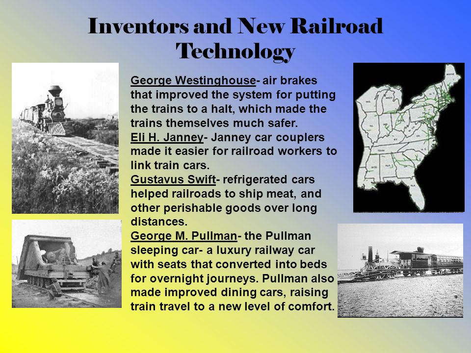 Inventors and New Railroad Technology