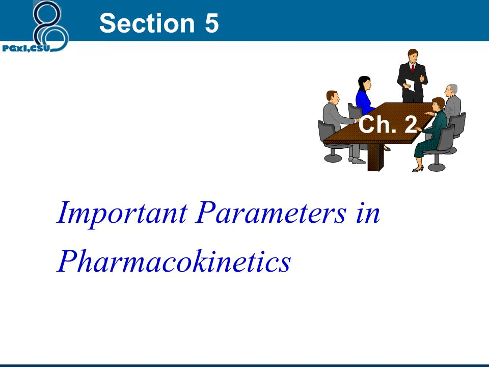 Important Parameters in Pharmacokinetics