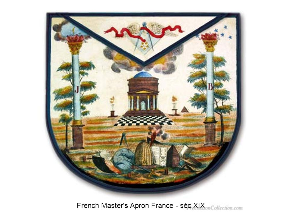 French Master s Apron France - séc XIX