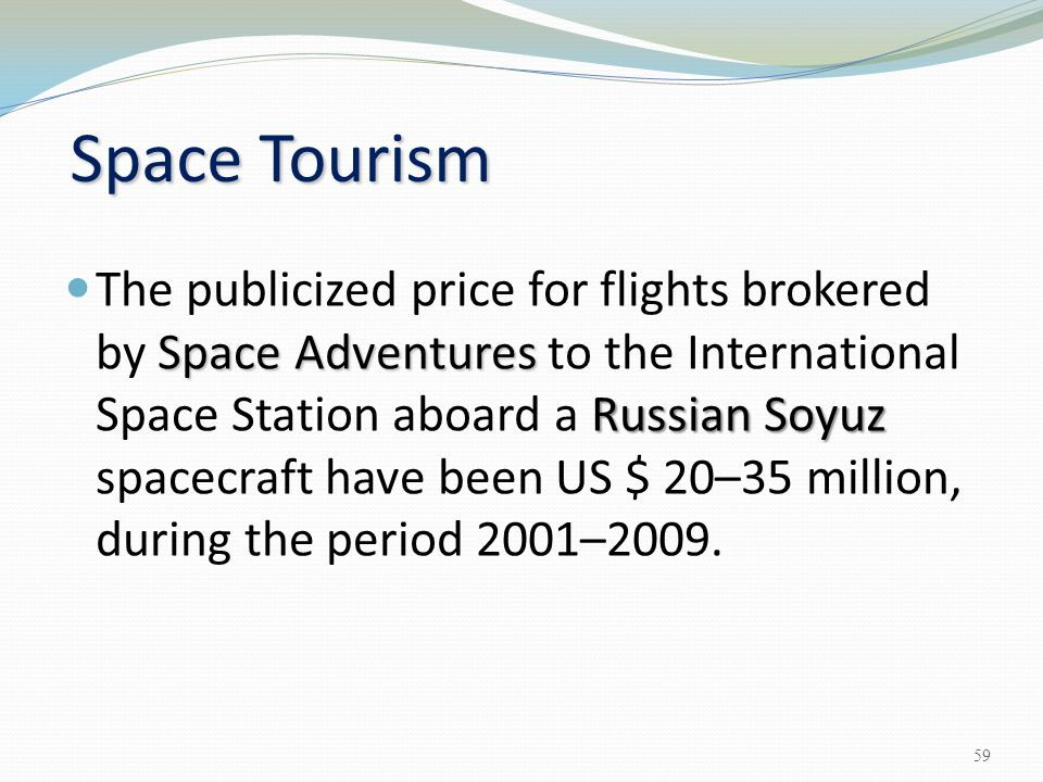advantages and disadvantages of space tourism