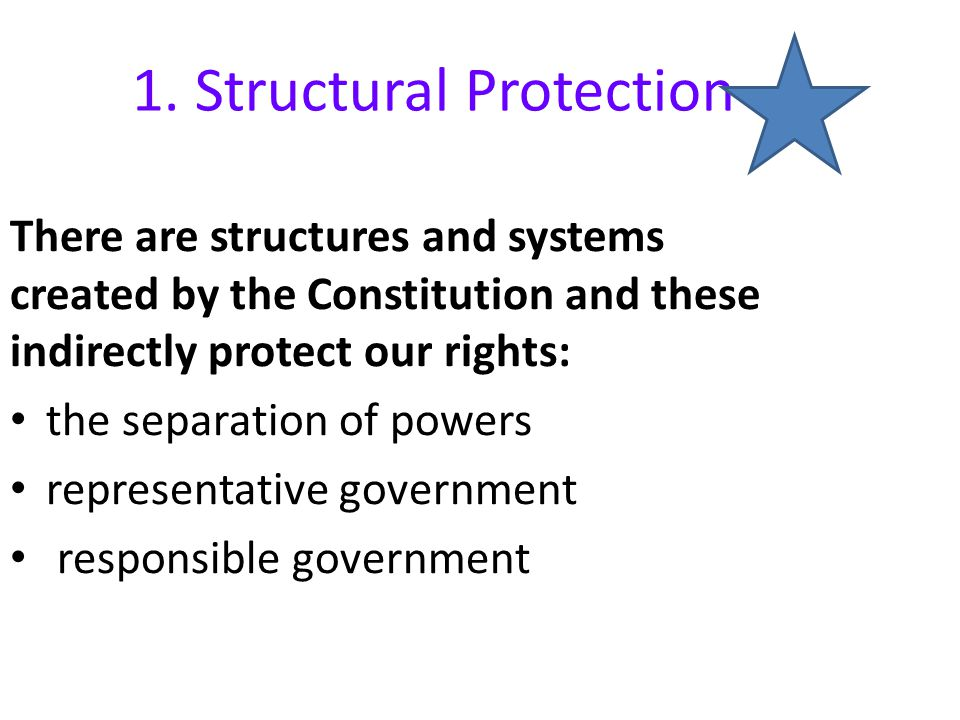 1. Structural Protection