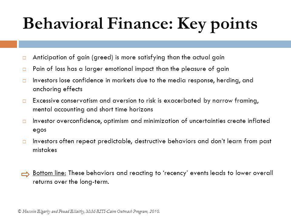 Behavioral Finance at JP Morgan - ppt video online download