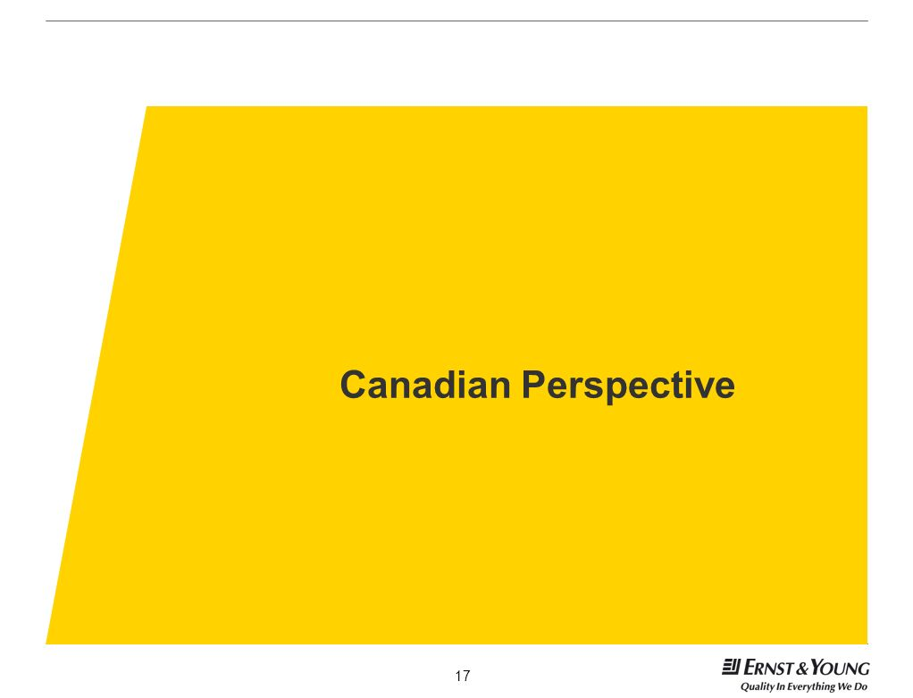 Canadian Perspective