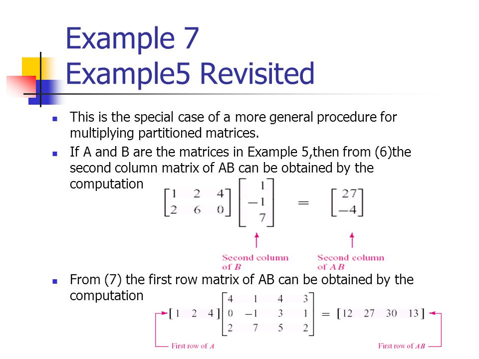 Example 7 Example5 Revisited