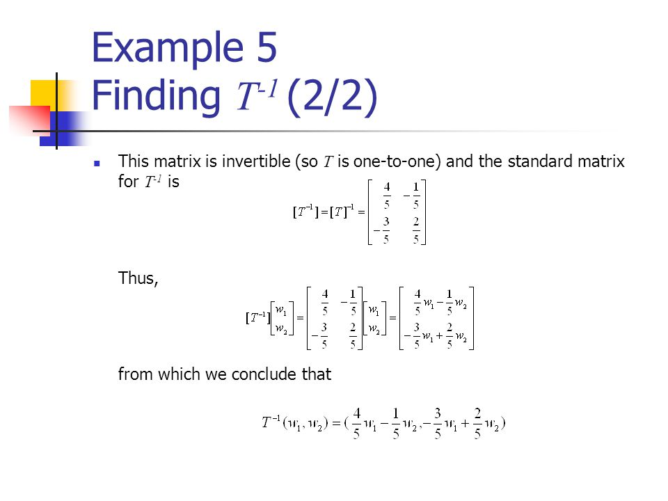 how to find if a matrix is invertible