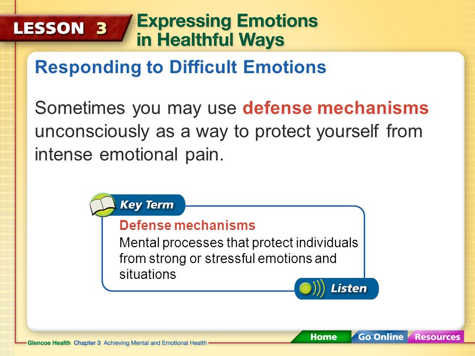 Responding to Difficult Emotions