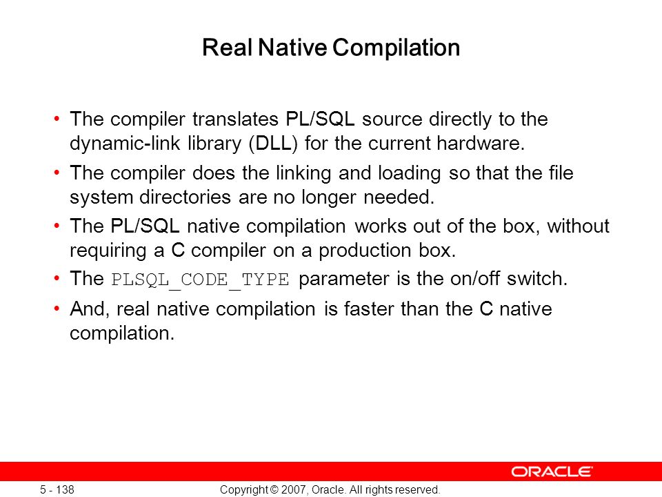 Real Native Compilation