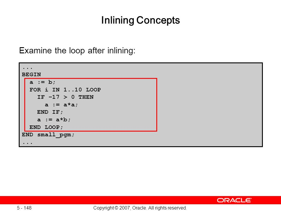 Oracle Database 11g: SQL and PL/SQL New Features 1 - 148