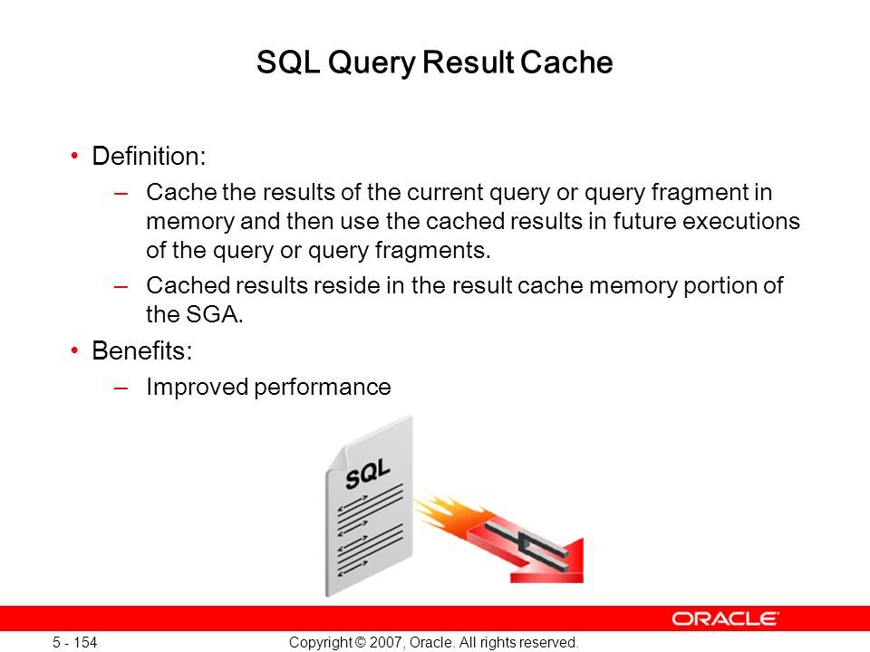 Oracle Database 11g: SQL and PL/SQL New Features 1 - 154