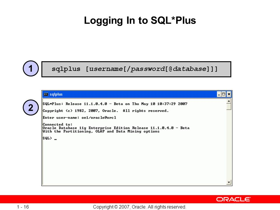 Oracle Database 11g: SQL and PL/SQL New Features 1 - 16