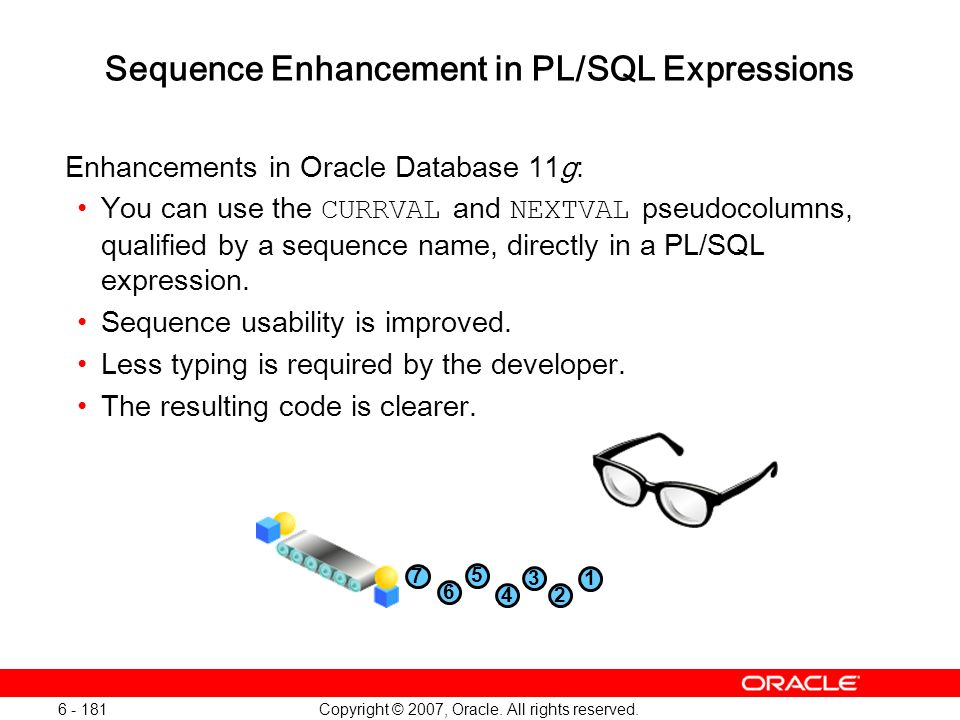 Sequence Enhancement in PL/SQL Expressions