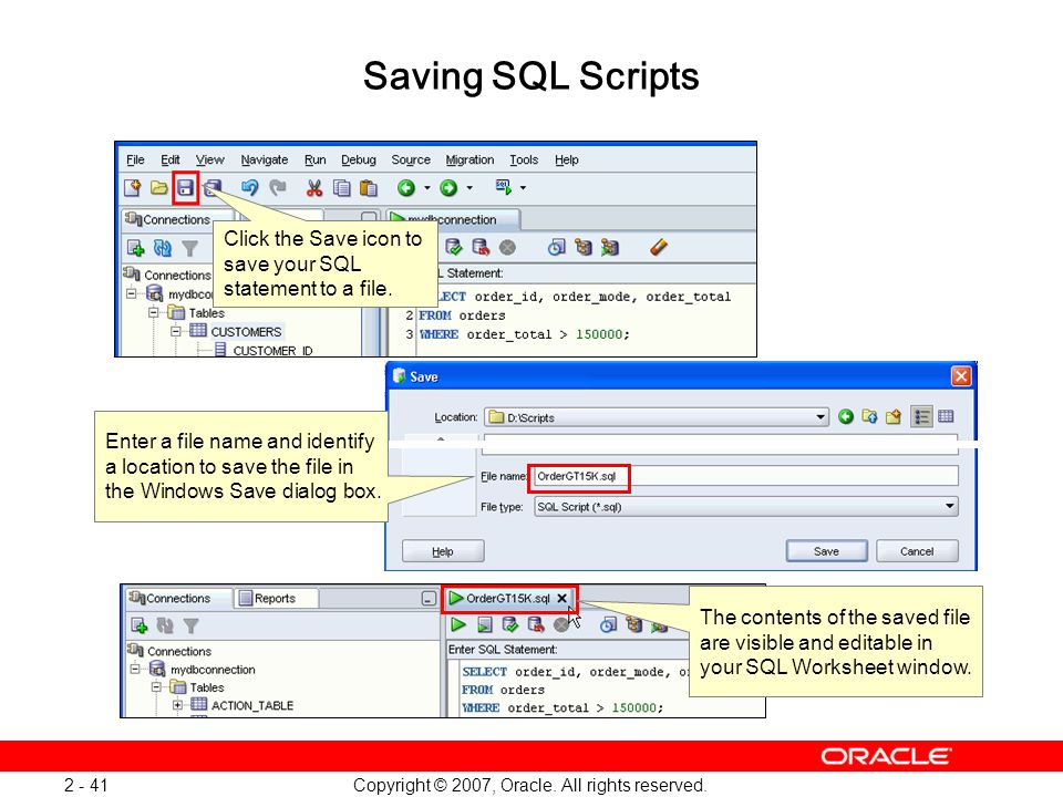 Oracle Database 11g: SQL and PL/SQL New Features 1 - 41