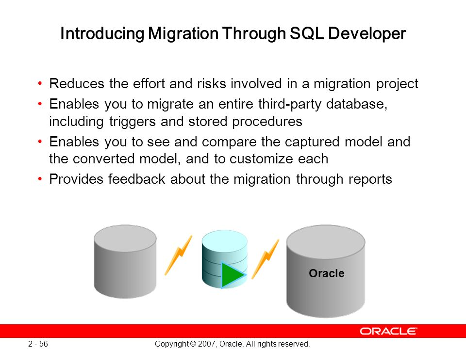 Introducing Migration Through SQL Developer