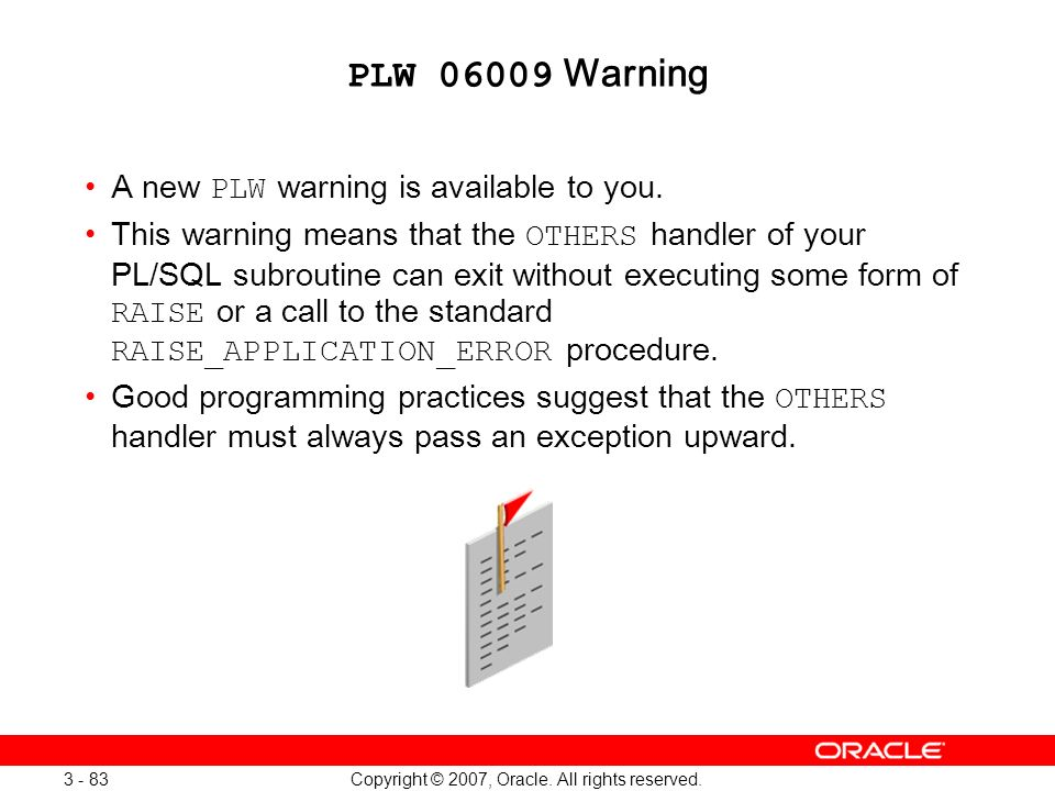 Oracle Database 11g: SQL and PL/SQL New Features 1 - 83