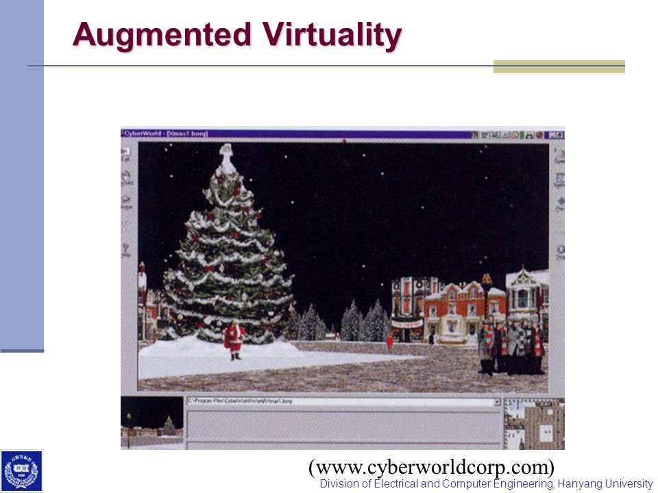 Augmented Virtuality (