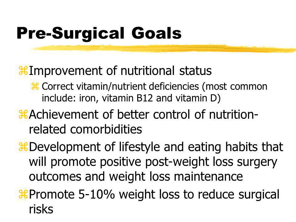 Nutrition Practice Standards For Bariatric Surgery Ppt Video