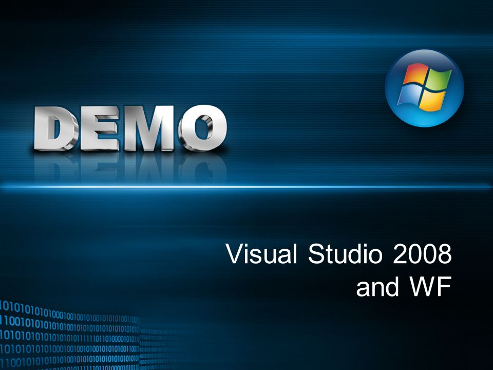 Visual Studio 2008 and WF