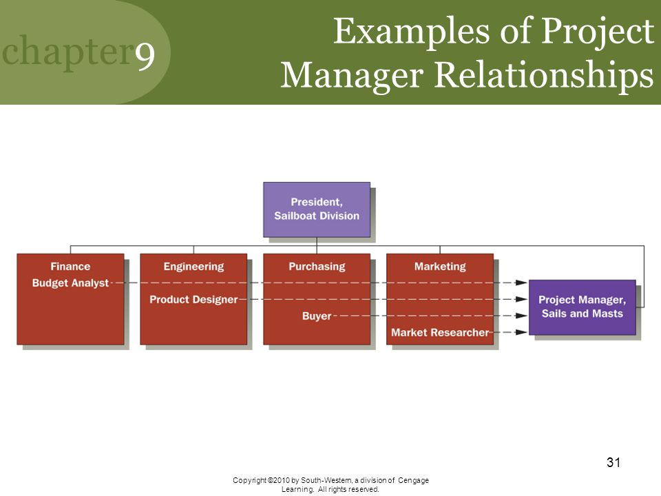 Examples of Project Manager Relationships